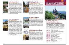 Soutěžní pas ke trase Odraz 30 let svobody v brněnských křesťanských dílech